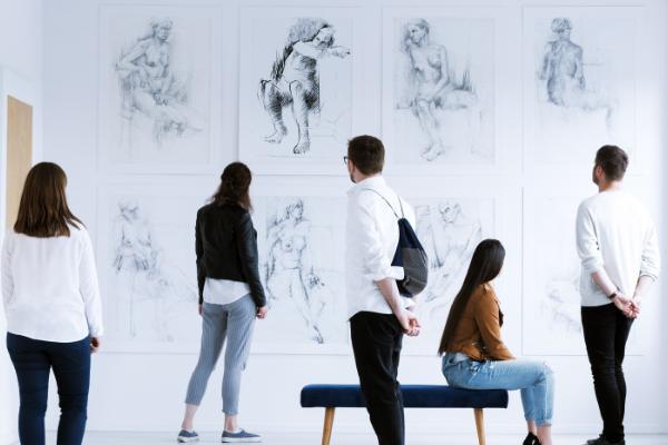 CLS corso arte in mostra
